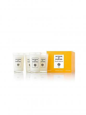 ACQUA DI PARMA | Glaskerze Colonia im Set 4x65g | transparent