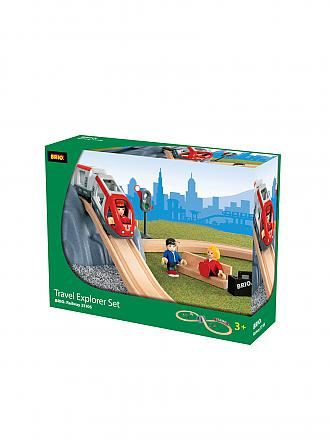 "BRIO | Bahn-Set 26-tlg. ""Travel Explorer"" 