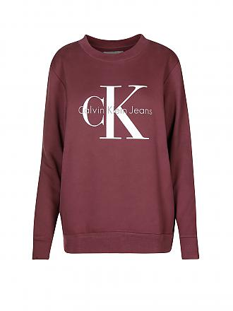 CALVIN KLEIN JEANS | Sweater Oversized-Fit | grau