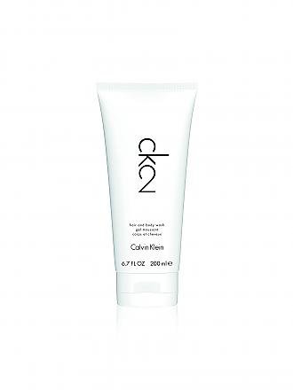 CALVIN KLEIN | ck2 Showergel 200ml | transparent