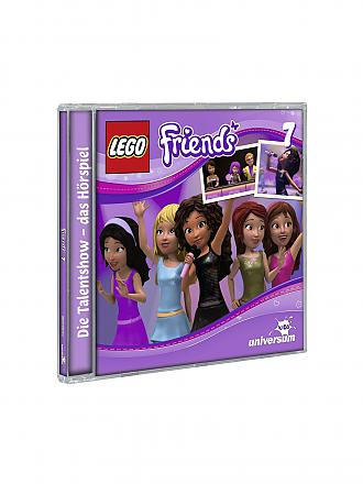 CD HÖRBUCH | Hörbuch - LEGO FRIENDS - Talentshow (CD7) | transparent