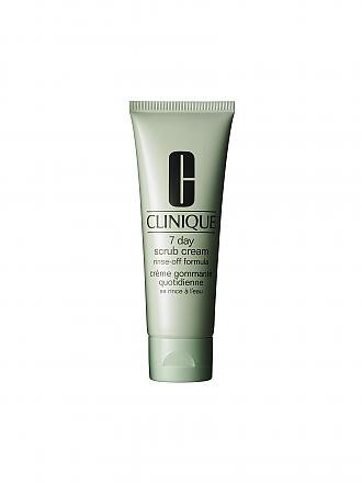 CLINIQUE | Peeling - 7 Day Scrub Cream Rinse-Off Form. 100ml | transparent