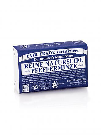 "DR. BRONNERS | Seifenblock Vegan ""Pfefferminze"" 140g 