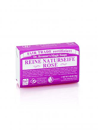 "DR. BRONNERS | Seifenblock Vegan ""Rose"" 140g 