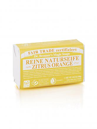 "DR. BRONNERS | Seifenblock Vegan ""Zitrus/Orange"" 140g 