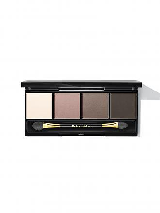 DR. HAUSCHKA | Eyeshadow-Palette 4x1,8g (Sand Brown Grey) | braun