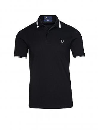 FRED PERRY | Poloshirt Slim-Fit | schwarz