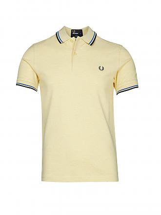 FRED PERRY | Poloshirt Slim-Fit | gelb