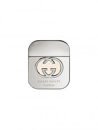GUCCI | Guilty Platinum Edition Eau de Toilette Natural Spray 50 ml | transparent
