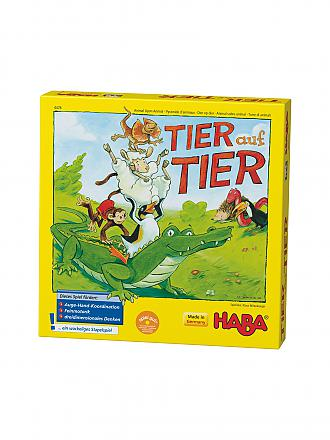 HABA | Stapelspiel - Tier auf Tier | transparent
