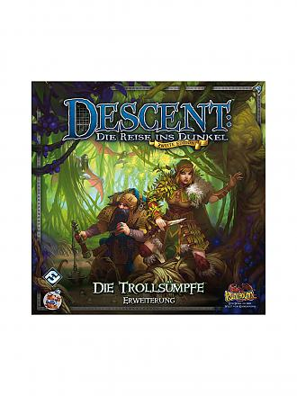 HEIDELBERGER SPIELEVERLAG | Descent 2nd Edition - Trollsümpfe (Erweiterung) | transparent