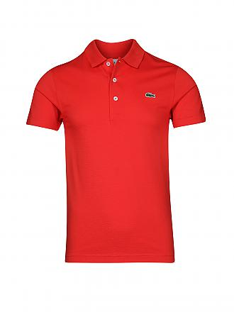 LACOSTE | Poloshirt | rot