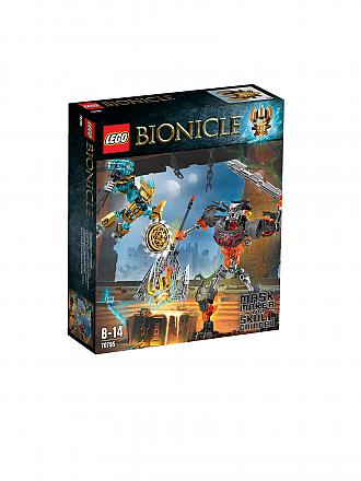 LEGO | ADVENTURE - Bionicle-Maskenmacher vs. Totenkopf-Brecher | transparent