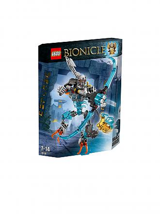 LEGO | ADVENTURE - Bionicle-Totenkopf Jäger | transparent