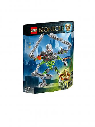 LEGO | ADVENTURE - Bionicle-Totenkopf Streiter | transparent