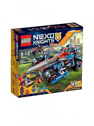 LEGO | ADVENTURE - Clay's Klingen Cruiser - Nexo Knights | transparent