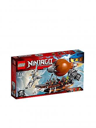 LEGO | ADVENTURE - Ninjago - Kommando Zeppelin | transparent