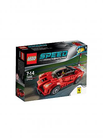 LEGO | ADVENTURE - Speed Champions - La Ferrari | transparent