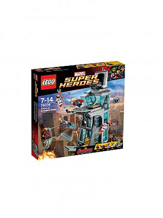 LEGO | ADVENTURE - Super Heroes - Attack Avengers Tower | transparent