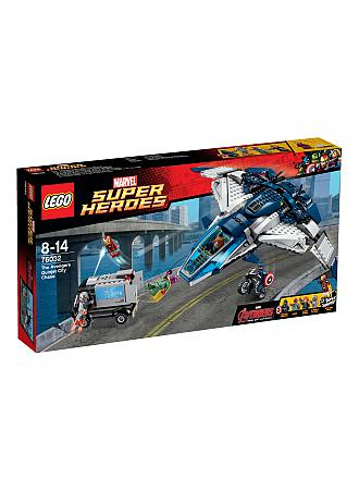 LEGO | ADVENTURE - Super Heroes - Avengers Quinjet City | transparent