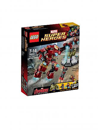 LEGO | ADVENTURE - Super Heroes - Hulkbuster Rettungsmission | transparent