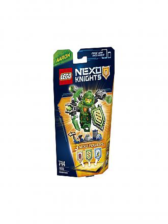 LEGO | ADVENTURE - Ultimativer Aaron - Nexo Knights | transparent