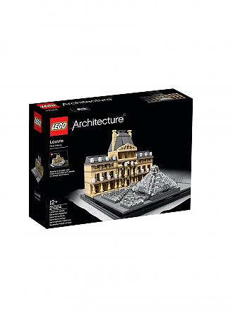 LEGO | ARCHITECTURE - Louvre | transparent