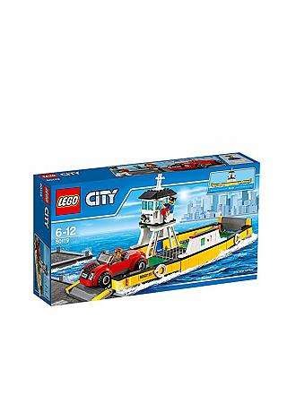 LEGO | CITY - Fähre | transparent
