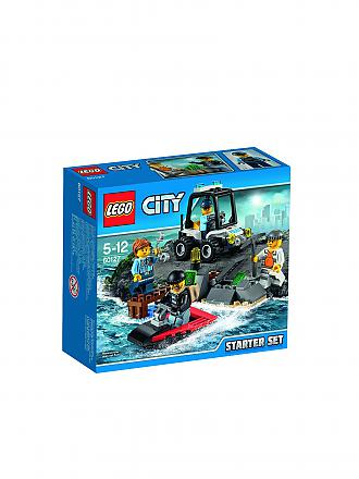 LEGO | CITY - Gefängnisinsel - Polizei Starter-Set | transparent
