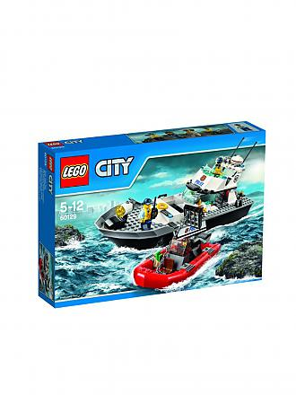 LEGO | CITY - Polizei Patrouillen-Boot | transparent