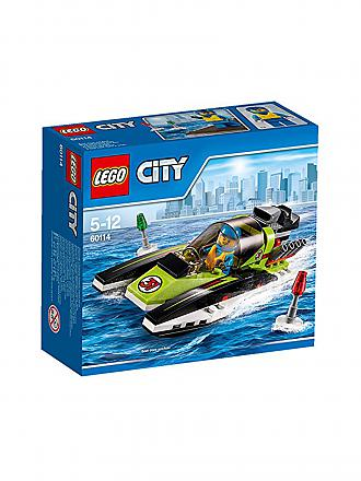 LEGO | CITY - Rennboot | transparent