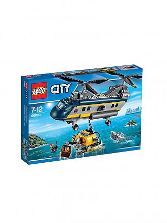 LEGO | CITY - Tiefsee Helikopter | transparent