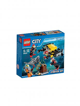 LEGO | CITY - Tiefsee Starter-Set | transparent