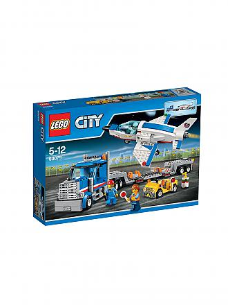 LEGO | CITY - Weltraum-Jet mit Transporter | transparent