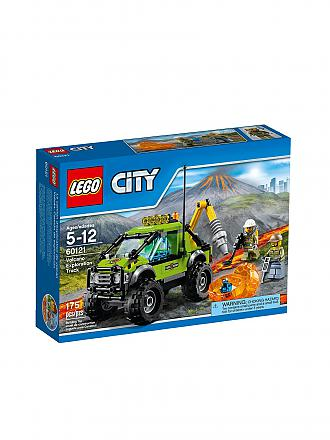 LEGO | City - Vulkan Forschungstruck | transparent