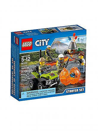 LEGO | City - Vulkan Starter-Set | transparent