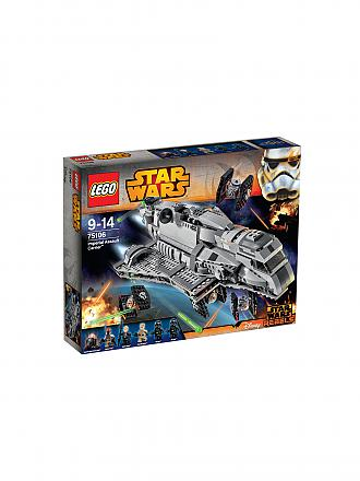 LEGO | STAR WARS - Imperial Asault Carrier | transparent
