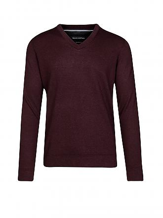 MARC O'POLO | Pullover Shaped-Fit | braun