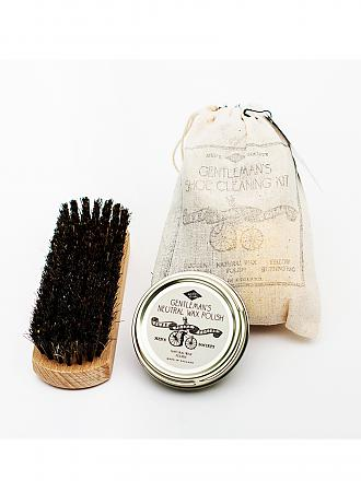 MENS SOCIETY | Shoe-Shine Kit | weiß