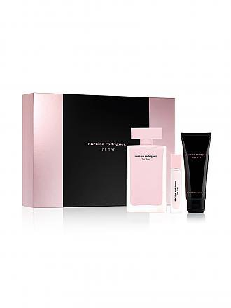 NARCISO RODRIGUEZ | Duftset - For Her Eau de Toilette Spray 50ml/Body Lotion 50ml/Pouch | transparent