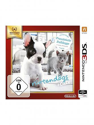 NINTENDO 3DS | Nintendogs Bulldog - New Friends Selects | transparent
