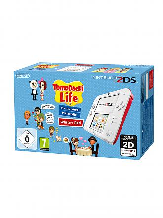Nintendo 3DS | 2DS Konsole inkl. Tomodachi Life | transparent