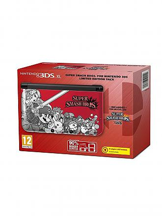 Nintendo 3DS | XL Konsole + Pre Smash Bros (Limited Edition) | transparent