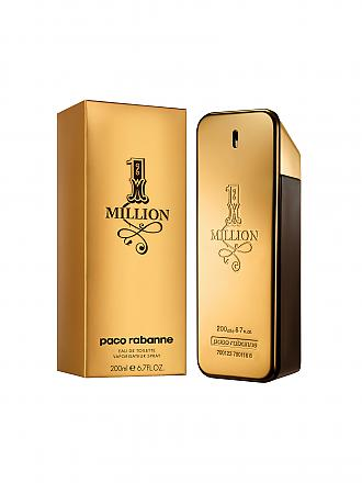 PACO RABANNE | 1 Million Eau de Toilette Spray 200ml | transparent