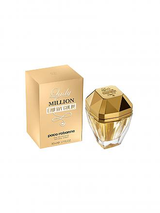PACO RABANNE | Lady Million Eau My Gold Eau de Toilette Spray 50ml | transparent