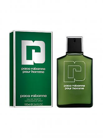PACO RABANNE | Pour Homme Eau de Toilette Spray 100ml | transparent