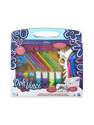 PLAY-DOH | DohVinci - Großes Design Set mit Platinum Styler | transparent