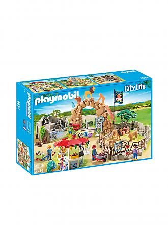 PLAYMOBIL | Mein großer Zoo | transparent