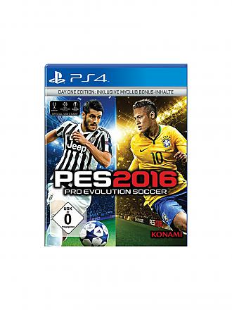 PLAYSTATION 4 | PES Pro Evolution Soccer 2016 - Day One Edition | transparent