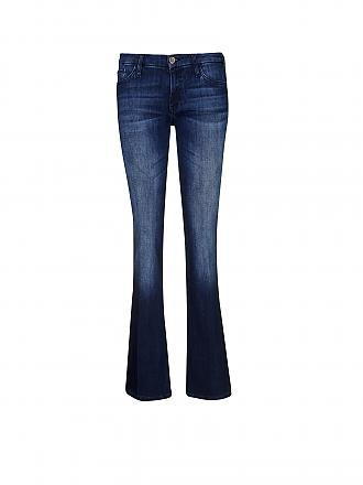 RICH & ROYAL | Jeans Flared-Fit | blau